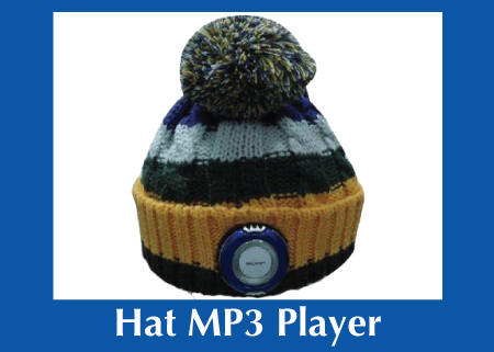 Custom MP3 Hat