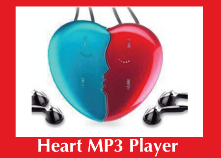 Custom MP3 Heart