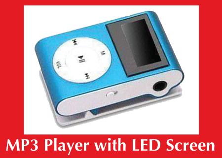 Custom MP3 with LED