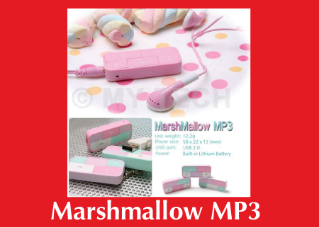 Custom MP3 Marshmallow